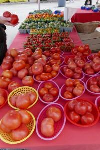 El mercado de frutas