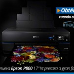 LLegó lo nuevo de Epson – La impresora de gran formato Epson P800 de 17″